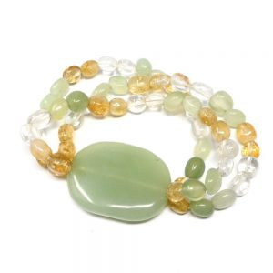 Aventurine Wafer Bracelet All Crystal Jewelry aventurine