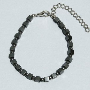 Hematite bead anklet All Crystal Jewelry [tag]