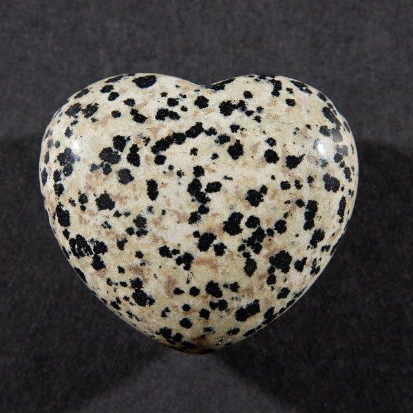 Jasper, Dalmation, Puffy Heart, 45mm