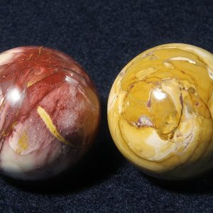 Mookaite, Sphere, 50mm All Polished Crystals