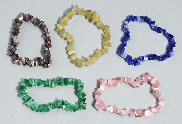 Cat's eye chip bead bracelet All Crystal Jewelry