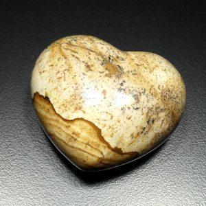 Jasper, Picture, Puffy Heart, 45mm
