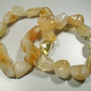 Citrine tumbled stone bracelet All Jewellery