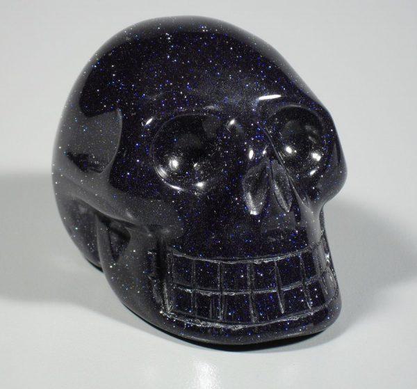 Goldstone, Blue, Skull All Polished Crystals