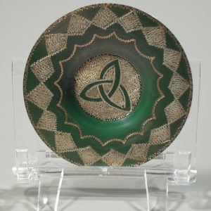 Salt dish with wiccan symbol B – triquetra Accessories [tag]