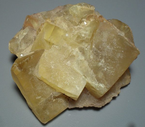 Yellow fluorite specimen All Raw Crystals