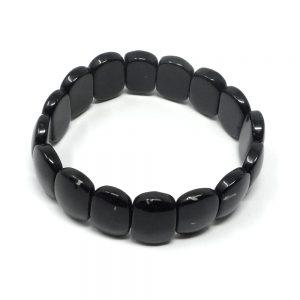 Black Obsidian Princess Bracelet All Crystal Jewelry black obsidian