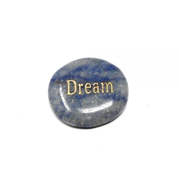 Dumortierite Pocket Stone All Gallet Items crystal pocket stone