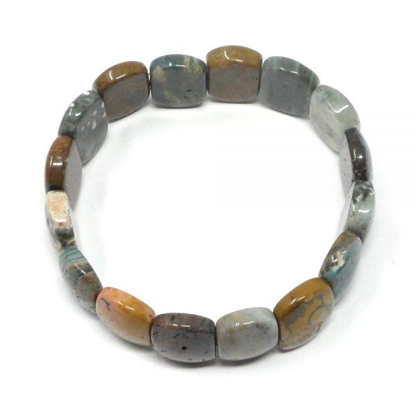 Ocean Jasper Princess Bracelet All Crystal Jewelry crystal bracelet