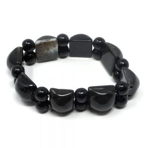 Onyx Crystal Bracelet All Crystal Jewelry black onyx