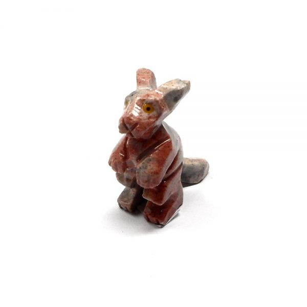 Soapstone Kangaroo All Specialty Items crystal kangaroo