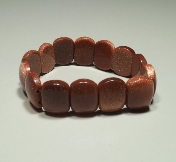 Goldstone (red) princess bracelet All Crystal Jewelry [tag]