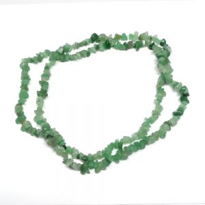 Green Aventurine Chip Bead Strand All Crystal Jewelry aventurine