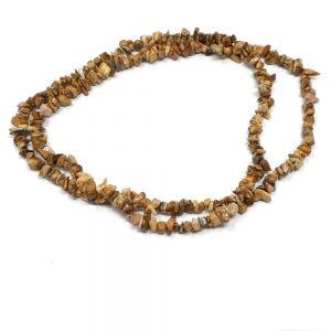 Picture Jasper Chip Bead Strand All Crystal Jewelry chip bead