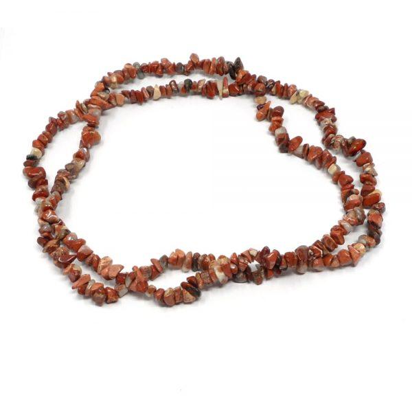 Snakeskin Jasper Chip Bead Strand All Crystal Jewelry crystal beads