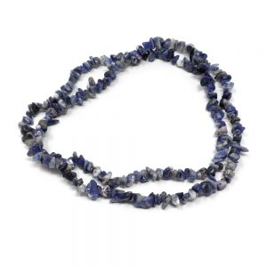 Sodalite Chip Bead Necklace Crystal Jewelry chip beads
