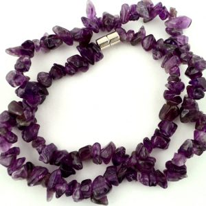 Amethyst Chip Choker All Jewellery