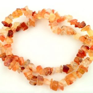 Carnelian chip choker All Jewellery