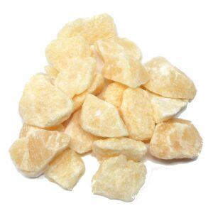 Orange Calcite raw 16oz All Raw Crystals bulk calcite