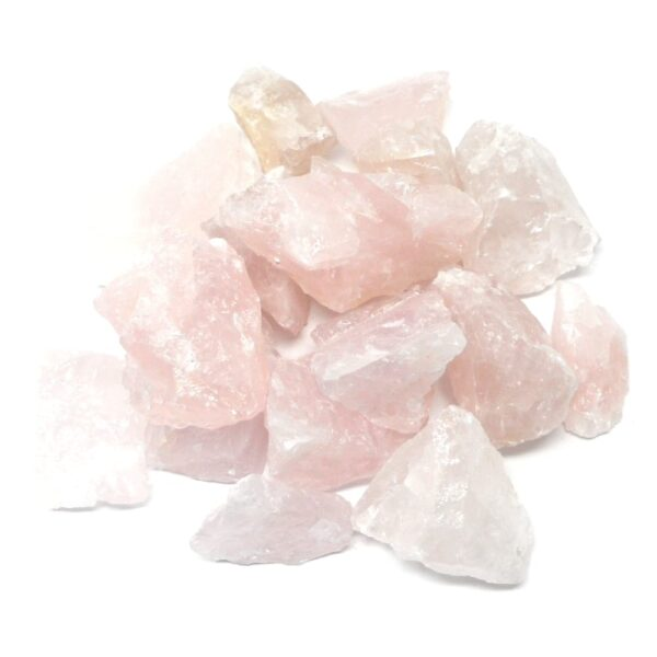 Rose Quartz raw 16oz All Raw Crystals bulk rose quartz