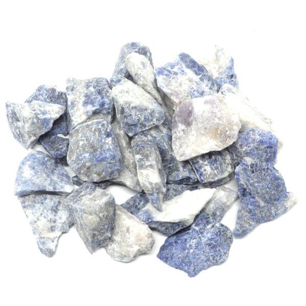 Sodalite raw 16oz All Raw Crystals bulk sodalite