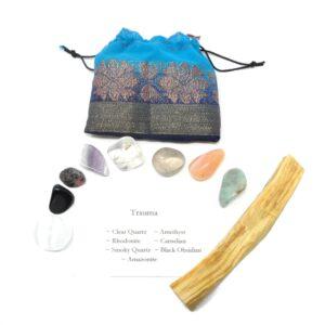 Crystal Kit ~ Trauma All Specialty Items amazonite