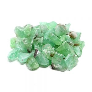 Calcite, Apple Green, sm 16oz All Raw Crystals