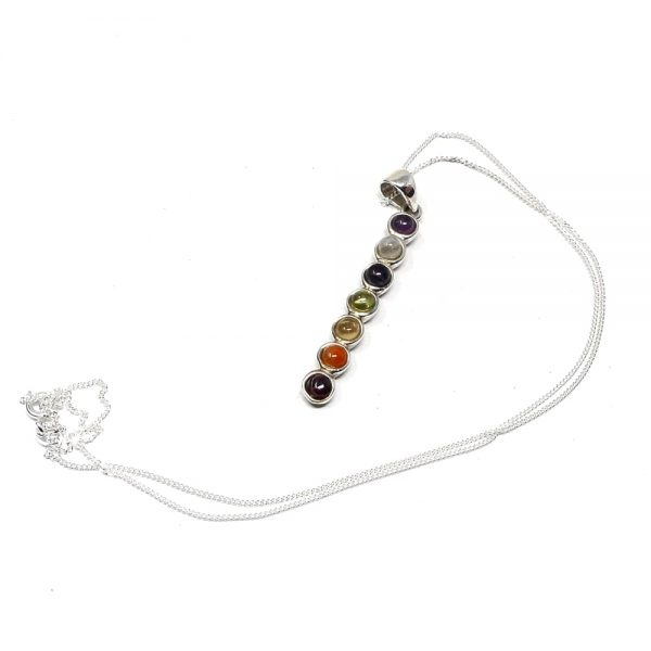 Chakra Crystal Necklace All Crystal Jewelry amethyst pendant