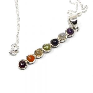 Chakra Crystal Necklace Crystal Jewelry amethyst pendant