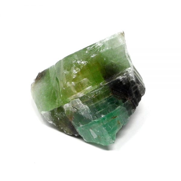 Green Calcite All Raw Crystals