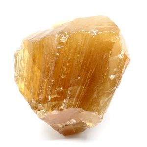 Honey Calcite Sculpture All Raw Crystals calcite