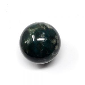 Moss Agate Sphere 40mm All Polished Crystals agate