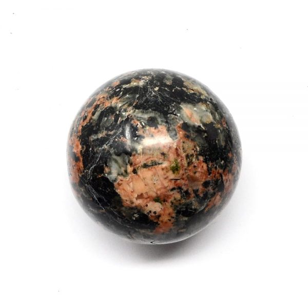 Orange Orthoclase Sphere 45mm All Polished Crystals crystal sphere