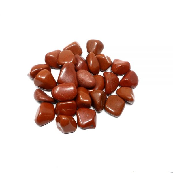Red Jasper md tumbled 8oz All Tumbled Stones bulk red jasper