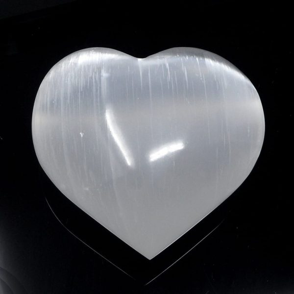 Selenite Heart All Polished Crystals heart