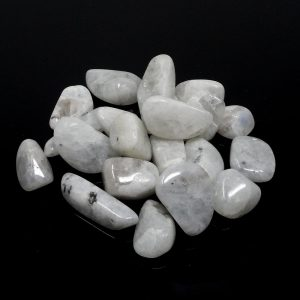 Moonstone, Rainbow, tumbled 4oz Tumbled Stones moonstone
