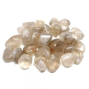 Quartz, Smoky, tumbled, 16oz All Tumbled Stones quartz