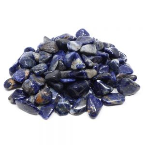 Sodalite, tumbled, 16oz All Tumbled Stones sodalite