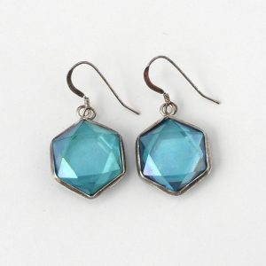 Aqua Aura Earrings All Jewellery