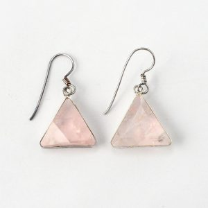 Rose Quartz Earrings All Crystal Jewelry earrings