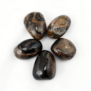 Stramatolite, tumbled, 4oz All Tumbled Stones stramatolite