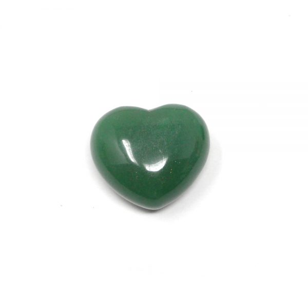 Green Aventurine Heart 45mm All Polished Crystals aventurine