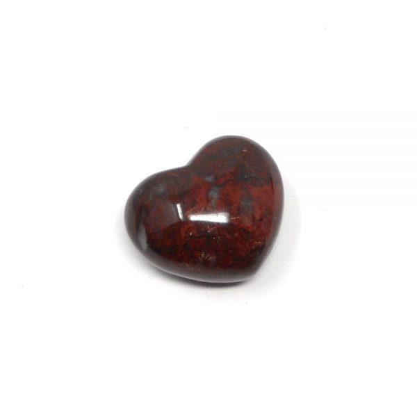 Brecciated Jasper Heart 45mm All Polished Crystals brecciated jasper