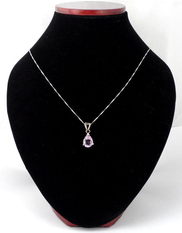 Amethyst Teardrop Pendant All Crystal Jewelry amethyst