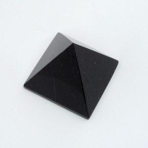 Blue Goldstone Pyramid All Polished Crystals