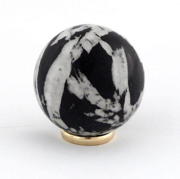 Chrysanthemum Stone, Sphere, 40mm All Polished Crystals chrysanthemum stone