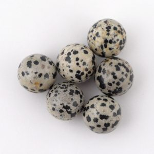 Jasper, Dalmatian, Sphere, 20mm All Polished Crystals dalmatian jasper