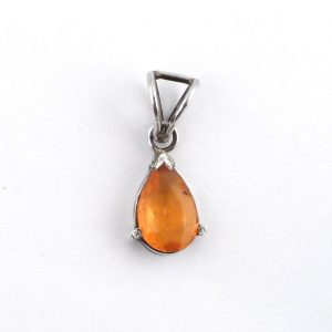 Jelly Opal Teardrop Pendant Crystal Jewelry jelly opal