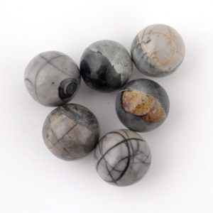 Jasper, Picasso, Sphere, 20mm Polished Crystals jasper