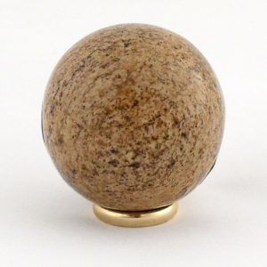 Jasper, Picture, Sphere, 40mm